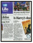 Lisi Harrison in the Boston Globe