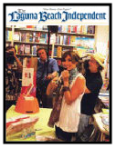 Laguna Beach Independent covers Lisi's book signing