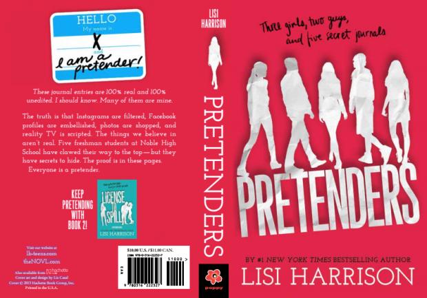 Pretender Paperback Cover