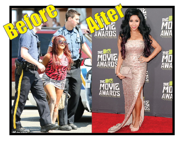 Snooki before vs after