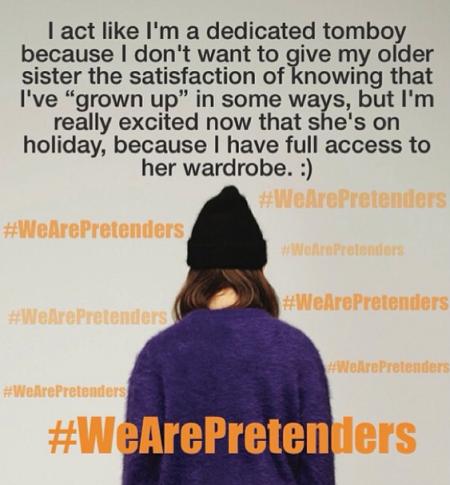 #wearepretenders