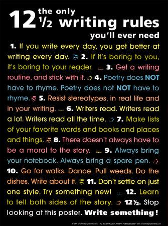 Writers: Do you ever...?